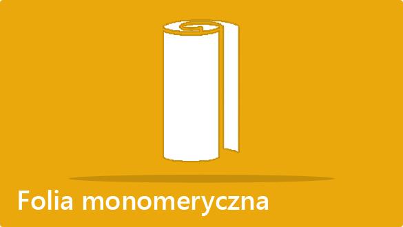 Druk folii monomerycznej - oklejanie kasetonów