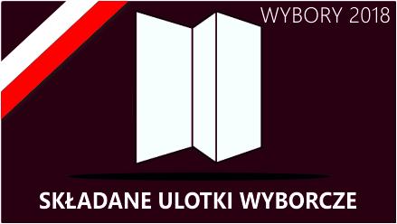 Składane Ulotki wyborcze 2019 Web-To-Print.pl