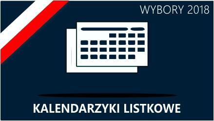 kalendarzyki listkowe wyborcze 2019 Web-To-Print.pl
