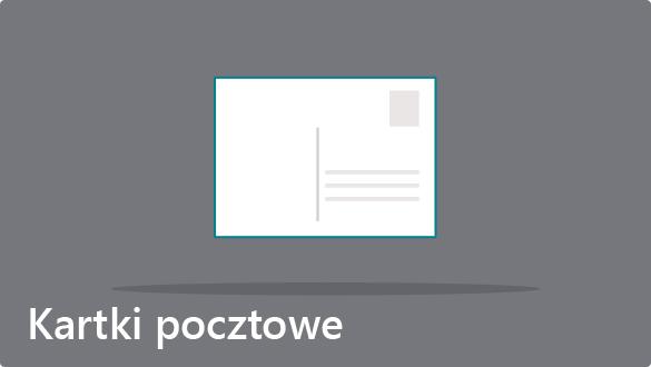 Kartki pocztowe - tani druk kartek pocztowych