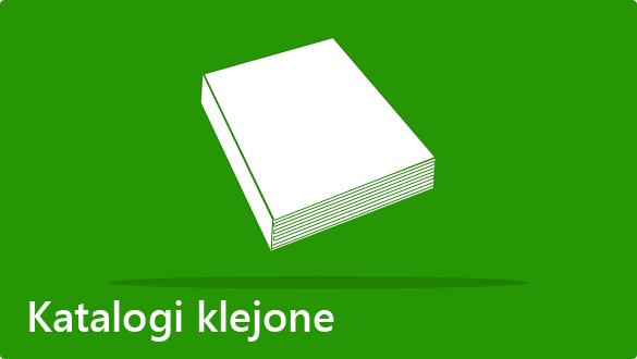 Katalogi klejone - druk książek